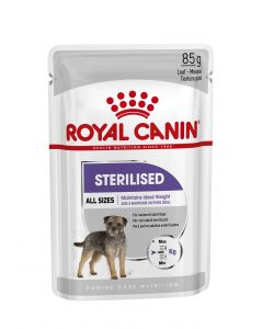 Royal canin Sterilised	gravy Dog Food 1.02 Kg