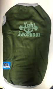 Petsworld  T Shirts for Dogs Green Size 28