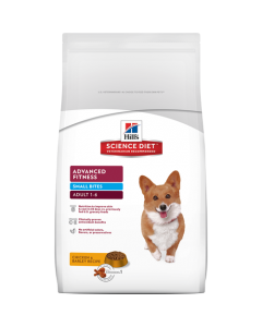 Hills Science Diet Advanced Fitness Adult Small Bites Dog Food 2kg