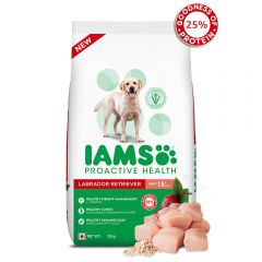 IAMS Proactive Health Adult Labrador Retriever Dogs (1.5+ Years) Super Premium Dog Food, 10Kg Pack