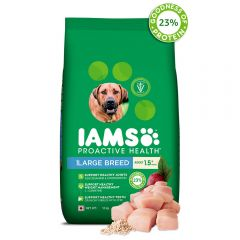 IAMS Proactive Health Adult Large Breed Dogs (1.5+ Years) Dry Dog Food, 12 kg