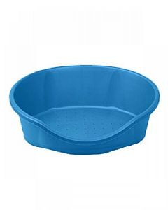 Imac Dido 95 Blue Tub With Cushion For Dog & Cat LxWxH - 93.75x56.25 x 27.5 cm ( 37.5x22.5 x 11 inches)