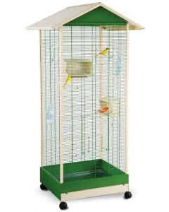 Imac Nest Lobelia Bird Cage For Small Birds LxWxH - 82.5 x71.25x162.5 cm ( 33x28.5x65 inch)