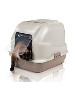 Imac My Cat Litter Covered Box Assorted - LxBxH : 48.75x38.75x38.75 cm (19.5x15.5x15.5 inch)