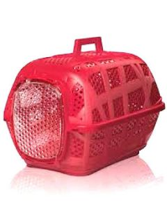 Imac Carry Sport 3 Carrier For Dog and Cat (Red) LxWxH - 47.5x32.5x31.25 cm ( 19x13x12.5 inches)