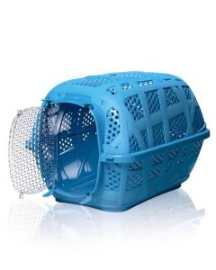Imac Carry Sport Carrier For Dog and Cat (Blue) LxWxH -47.5x32.5x31.25 cm (19x13x12.5 inches)