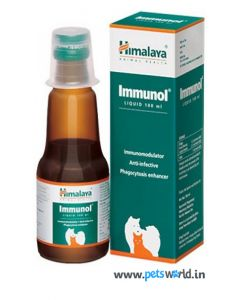 Himalaya Immunol Supplement For Dogs and Cats 100 ml