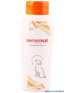 Intas Softas Plus Medicated Shampoo For Dog 200ml