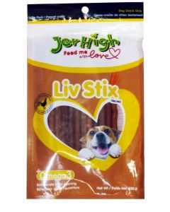 Jerhigh Dog Treats Liv Stix 100 gms