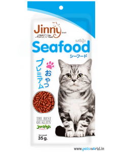 Jerhigh Jinny Seafood Cat Snack 35 gms