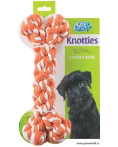 Pet Brands Knotty Bone Dog Toy Ex-Large