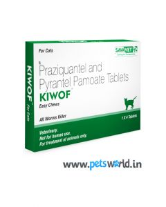 Savavet Kiwof Dewormer For Cat