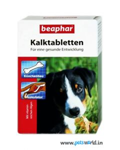 Beaphar Kalk Calcium Tablets For Dogs 60 tabs