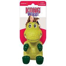 Kong Wiggi alligator Large Dog Toy