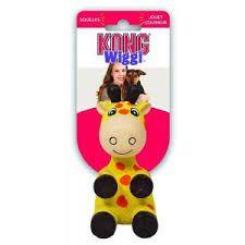 Kong Wiggi Giraffe Dog Toy large
