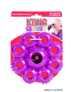 Kong Quest Star Pods Dog Toy Large