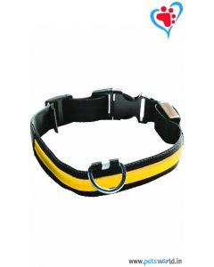 Petsworld LED Dog Collar - Yellow