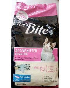 DROOLS Let's Bite Active Kitten 400gm