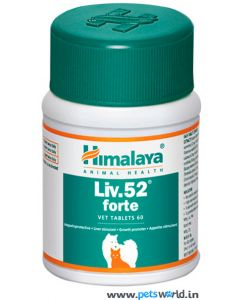 Himalaya Liv. 52 Forte Tablets For Dogs and Cats 60 tabs