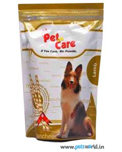Pet en Care Lamb Munches 450 gms
