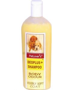 Pet Lovers DeoPlus+ Dog Shampoo 1 Ltr