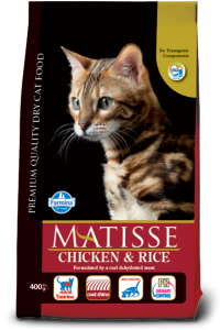 Farmina Matisse Adult Cat Food Chicken and Rice 400 gms
