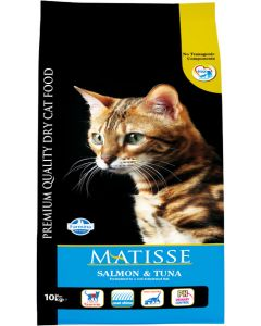 Farmina Matisse Adult Cat Food Salmon and Tuna 10 Kg