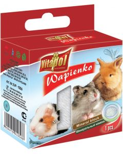 Vitapol Mineral Block For Rodents Natural 40 gm