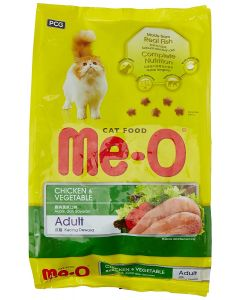 Me-O Adult Cat Food Chicken & Veg  450 Gm