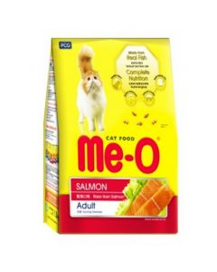 Me-O Adult Cat Food Salmon flavour 45gm