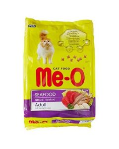 Me-O Adult Cat Food Seafood Flavour  50 gm