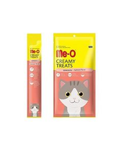 Me-O Creamy Cat Treats Salmon Flavor 60gm