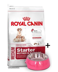 Royal Canin Medium Starter Dog Food 4 Kg With Free Gifts*