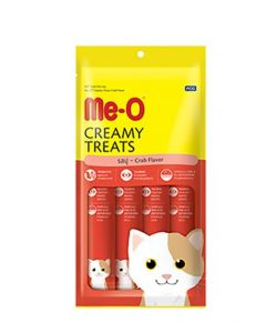 Me-O Creamy Cat Treats Crab Flavor 60gm