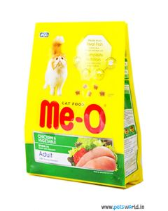 MeO Chicken and Vegetables Cat Food 1.3 Kg