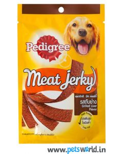 Pedigree Dog Treats Meat Jerky Grilled Liver 80 gms