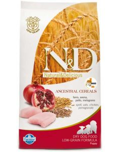 Farmina N&D Low Grain Puppy Chicken & Pomegranate Dog Food Maxi 12 kg