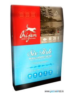 Orijen Six Fish Dog Food 340 gms