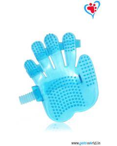 Petsworld Palm Mounted Dog Bathing Glove