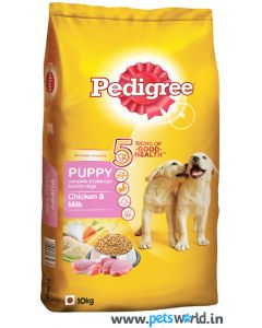 Pedigree Puppy Chicken and Milk Dog Food 10 Kg