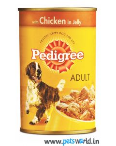 Pedigree Chicken in Jelly Adult 400 gms
