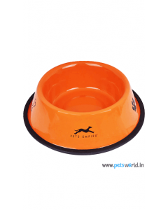 Pets Empire Regular Anti Skid Bowl Coloured 900 ml
