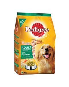 Pedigree 100% Vegetarian Adult Dog Food 3 Kg