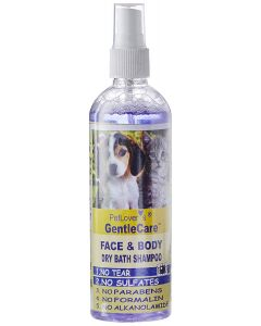 Pet Lovers Gentle Care Face and Body Dry Bath Shampoo 200 ML