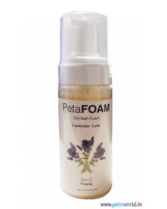 PetaFOAM Dry Bath Foam Lavender Love 200 ml