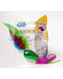 PET BRANDS Cat Fish & Feather Toy