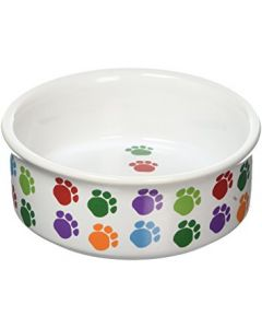 PET BRANDS Cat & Dog Ceremic Bowl 5 In