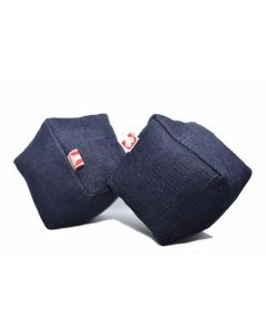 PET BRANDS Denim Cube Chew Toy