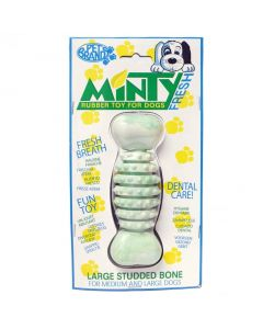 PET BRANDS Minty Fresh Rubber Bone