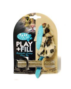 PET BRANDS Play Plus Fill Cat Toy